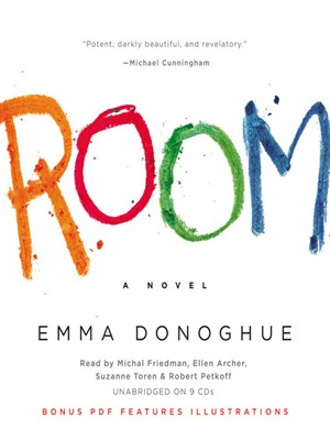 Click this cover for a(n) Audiobook sample of Room.