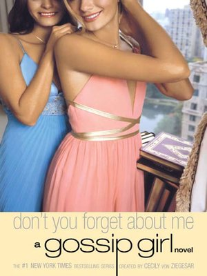 Click this cover for a(n) eBook sample of Don't You Forget About Me