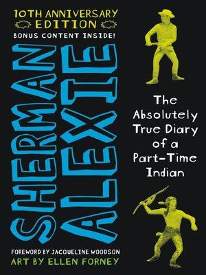 Click this cover for a(n) eBook sample of The Absolutely True Diary of a Part-Time Indian.