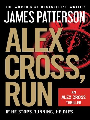 Click this cover for a(n) eBook sample of Alex Cross, Run.