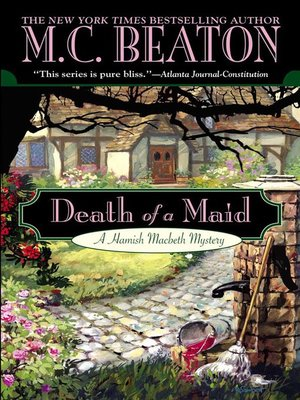 Click this cover for a(n) eBook sample of Death of a Maid.