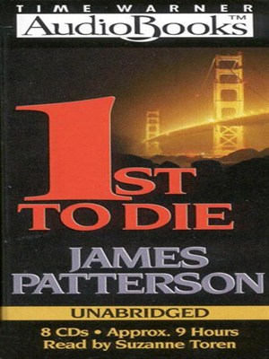 Click this cover for a(n) Audiobook sample of 1st to Die.