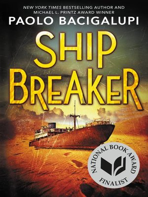 Click this cover for a(n) eBook sample of Ship Breaker.