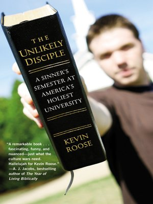 Click this cover for a(n) eBook sample of The Unlikely Disciple