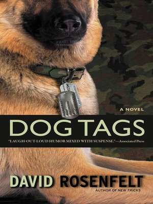Click this cover for a(n) eBook sample of Dog Tags