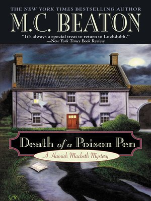 Click this cover for a(n) eBook sample of Death of a Poison Pen.