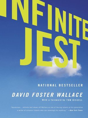 Click this cover for a(n) eBook sample of Infinite Jest.