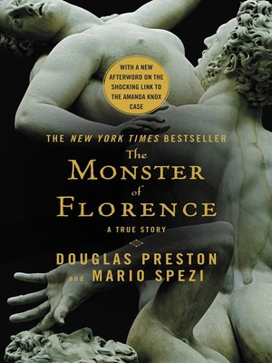 Click this cover for a(n) eBook sample of The Monster of Florence.