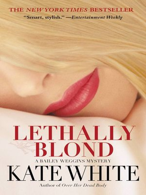 Click this cover for a(n) eBook sample of Lethally Blond.