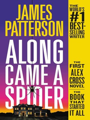 Click this cover for a(n) eBook sample of Along Came a Spider.