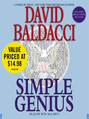 Click this cover for a(n) Audiobook sample of Simple Genius.