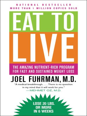 Click this cover for a(n) eBook sample of Eat to Live.