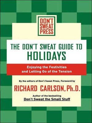 Click this cover for a(n) eBook sample of The Don't Sweat Guide to Holidays.