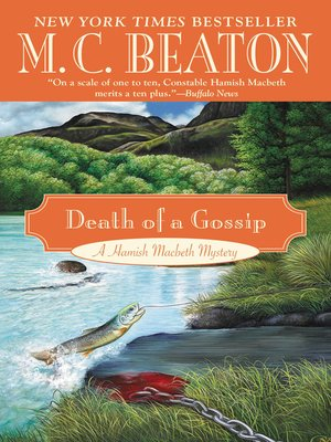 Click this cover for a(n) eBook sample of Death of a Gossip.