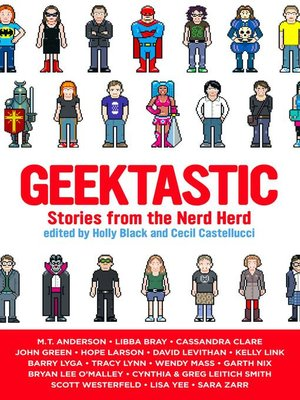 Click this cover for a(n) eBook sample of Geektastic.