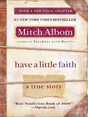 Click this cover for a(n) eBook sample of Have a Little Faith