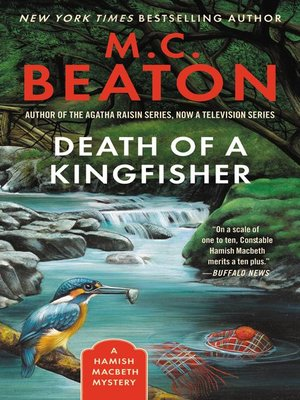 Click this cover for a(n) eBook sample of Death of a Kingfisher