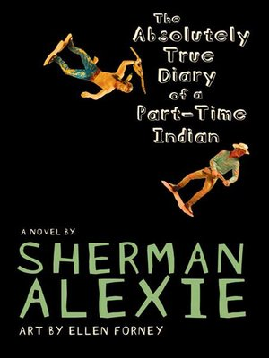Click this cover for a(n) eBook sample of The Absolutely True Diary of a Part-Time Indian