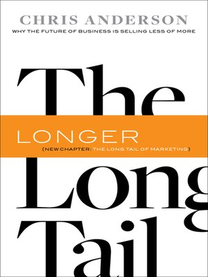 Click this cover for a(n) eBook sample of The Long Tail