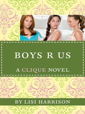 "Click this cover for a(n) eBook sample of Boys ""R"" Us"