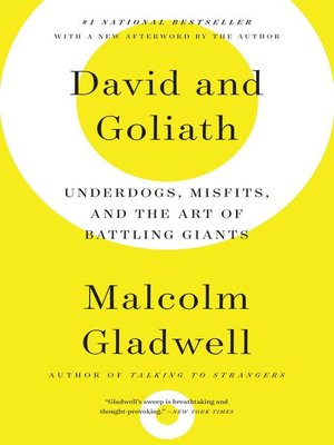 Click this cover for a(n) eBook sample of David and Goliath.
