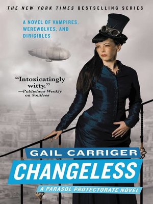 Click this cover for a(n) eBook sample of Changeless.