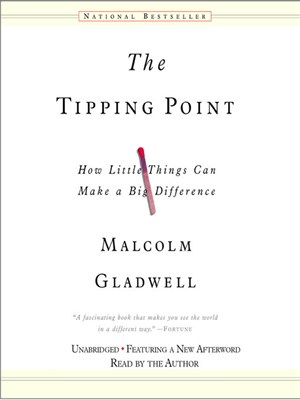 Click this cover for a(n) Audiobook sample of The Tipping Point.