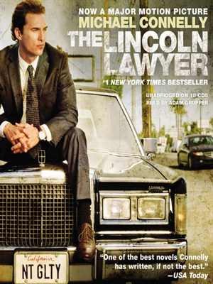 Click this cover for a(n) Audiobook sample of The Lincoln Lawyer.