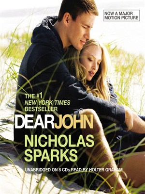 Click this cover for a(n) Audiobook sample of Dear John.