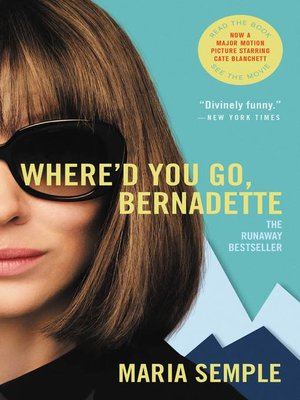 Cover of Where'd You Go, Bernadette