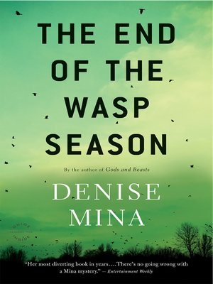 Click this cover for a(n) eBook sample of The End of the Wasp Season.