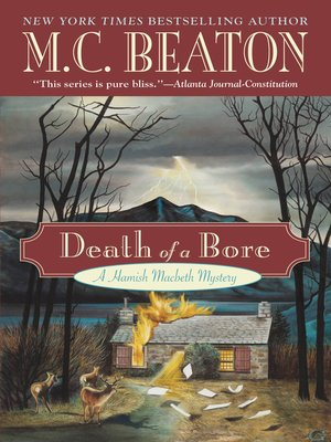 Click this cover for a(n) eBook sample of Death of a Bore.
