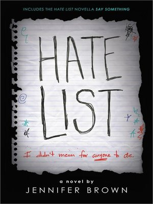 Click this cover for a(n) eBook sample of Hate List.