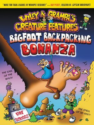Click this cover for a(n) eBook sample of Bigfoot Backpacking Bonanza