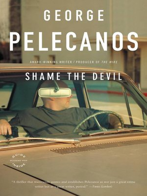 Cover of Shame the Devil