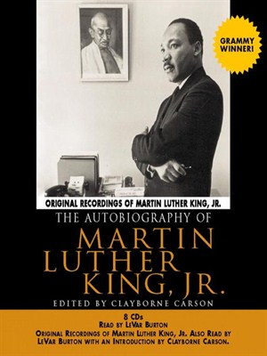 Click this cover for a(n) Audiobook sample of The Autobiography of Martin Luther King, Jr..