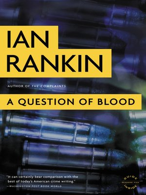 Cover of A Question of Blood
