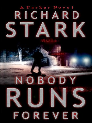 Click this cover for a(n) eBook sample of Nobody Runs Forever.