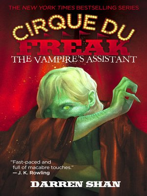 Click this cover for a(n) eBook sample of The Vampire's Assistant
