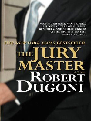 Click this cover for a(n) eBook sample of The Jury Master.