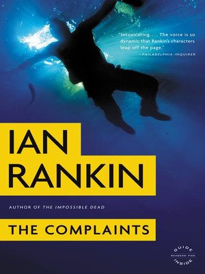 Click this cover for a(n) eBook sample of The Complaints.