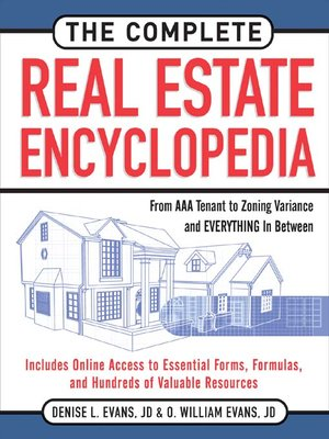 Click this cover for a(n) eBook sample of The Complete Real Estate Encyclopedia.