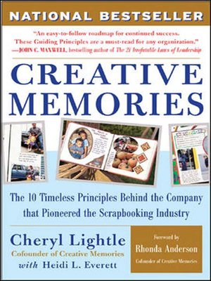 Click this cover for a(n) Audiobook sample of Creative Memories.