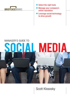 Click this cover for a(n) eBook sample of Manager's Guide to Social Media