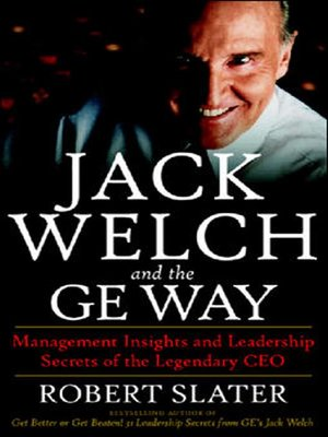 Click this cover for a(n) Audiobook sample of Jack Welch and the GE Way.