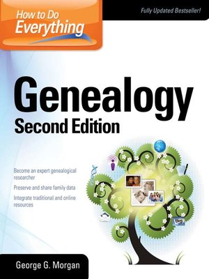 Click this cover for a(n) eBook sample of How to Do Everything Genealogy.