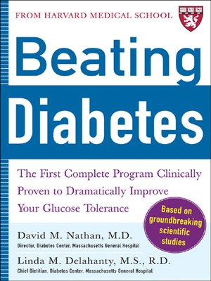 Click this cover for a(n) eBook sample of Beating Diabetes (A Harvard Medical School Book)