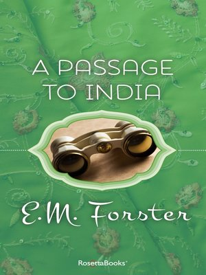 Click this cover for a(n) eBook sample of A Passage to India.