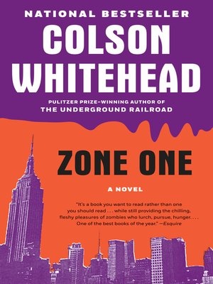 Click this cover for a(n) eBook sample of Zone One.