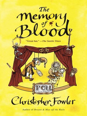Cover of The Memory of Blood